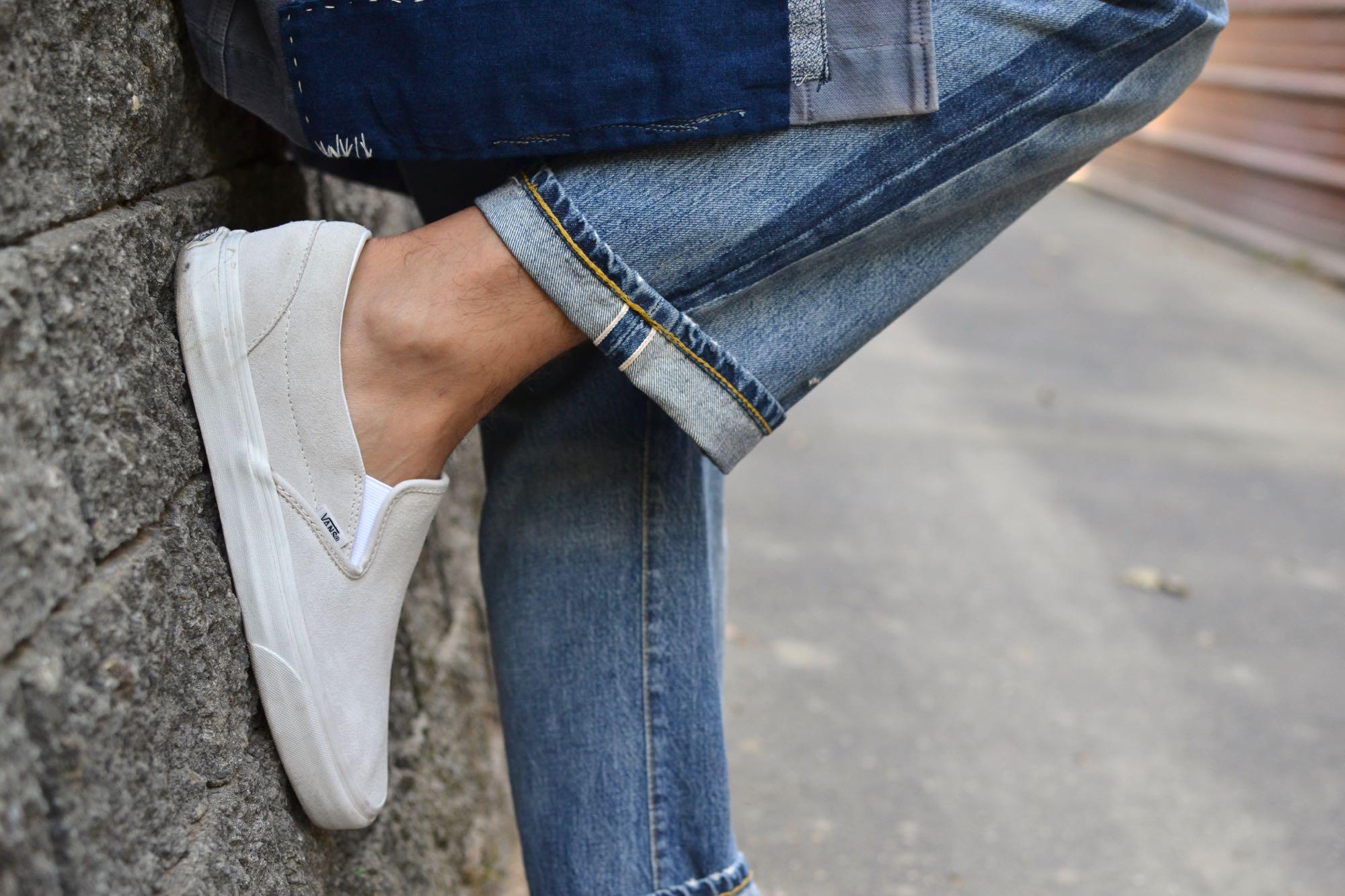 conseil homme comment porter des vans slip-on dans une tenue street heritage workwear style
