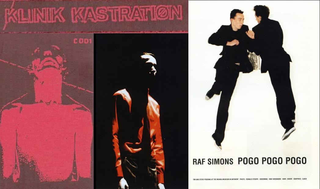 raf simons et imapct de l'art musique et cinema dans son travail - culture mode