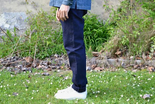 jean size-up non retouché en longueur - conseil pour bien prendre uen taille au-dessus