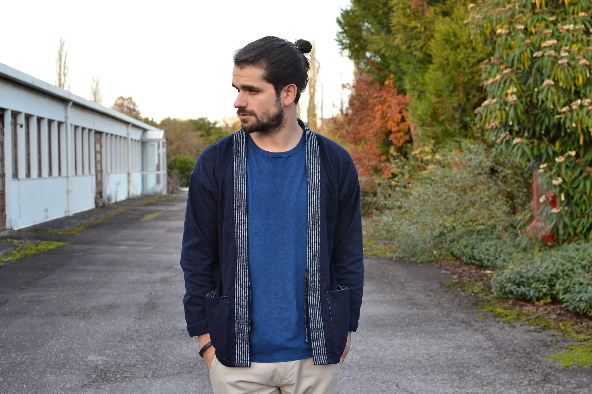 Project noragi - comment porter une noragi pour homme style urbain