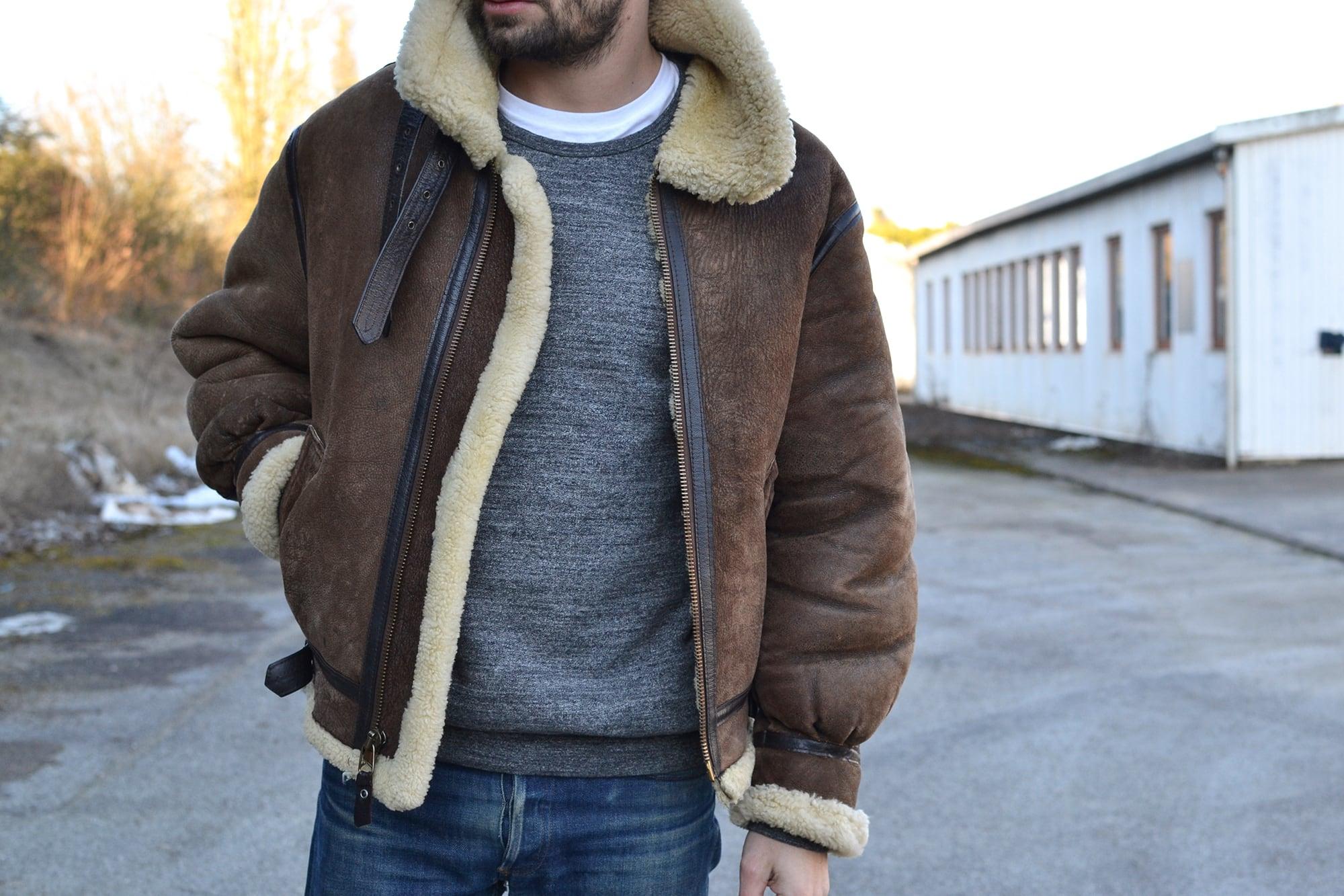 Norse Projects beanie - Avirex b3 flight jacket