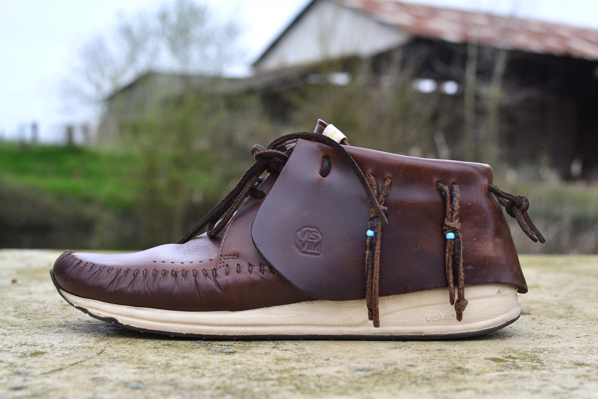 Visvim FBT Elston dark brown - 1