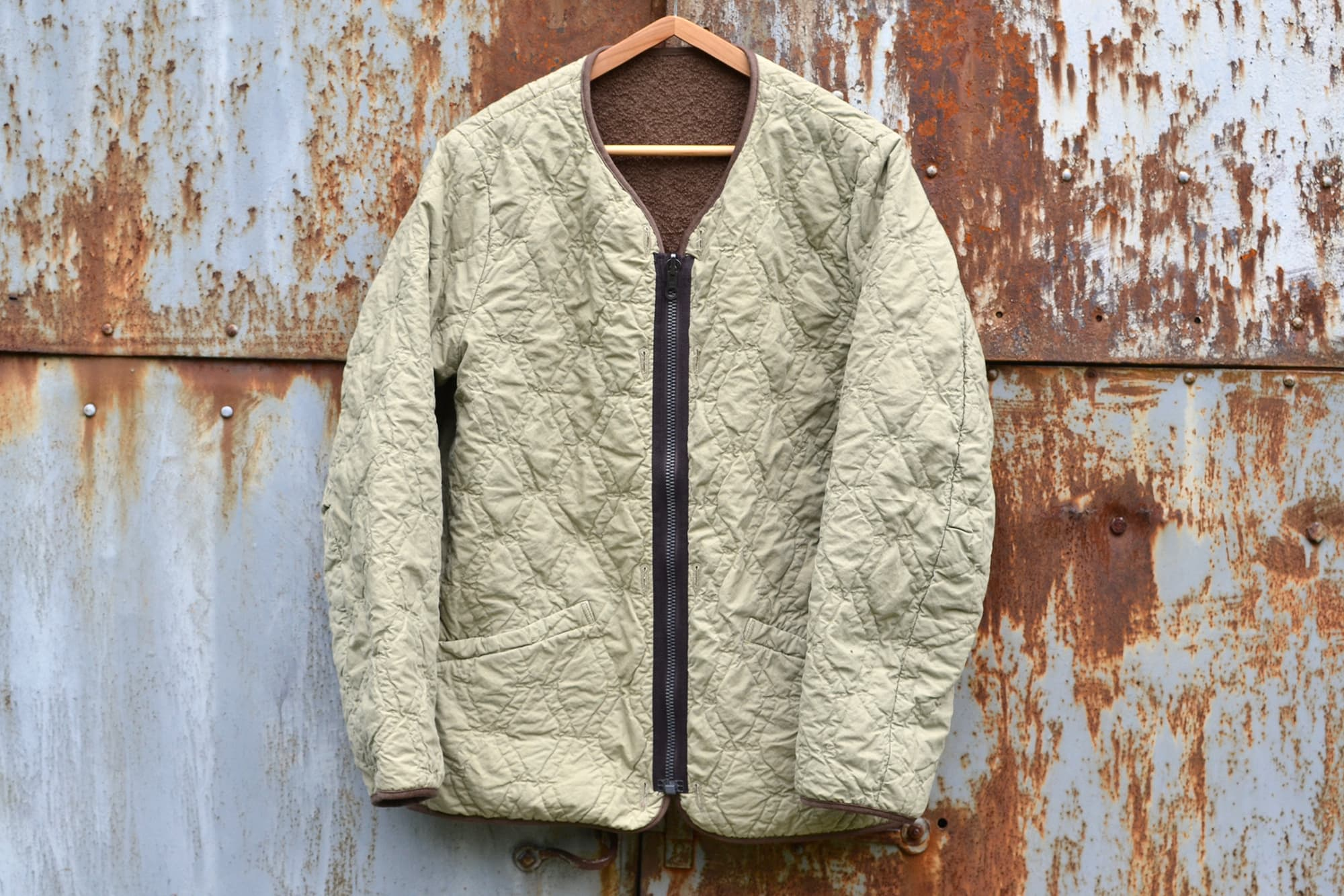 Visvim SS17 Iris Liner Jacket (Embroidery Lt Green)