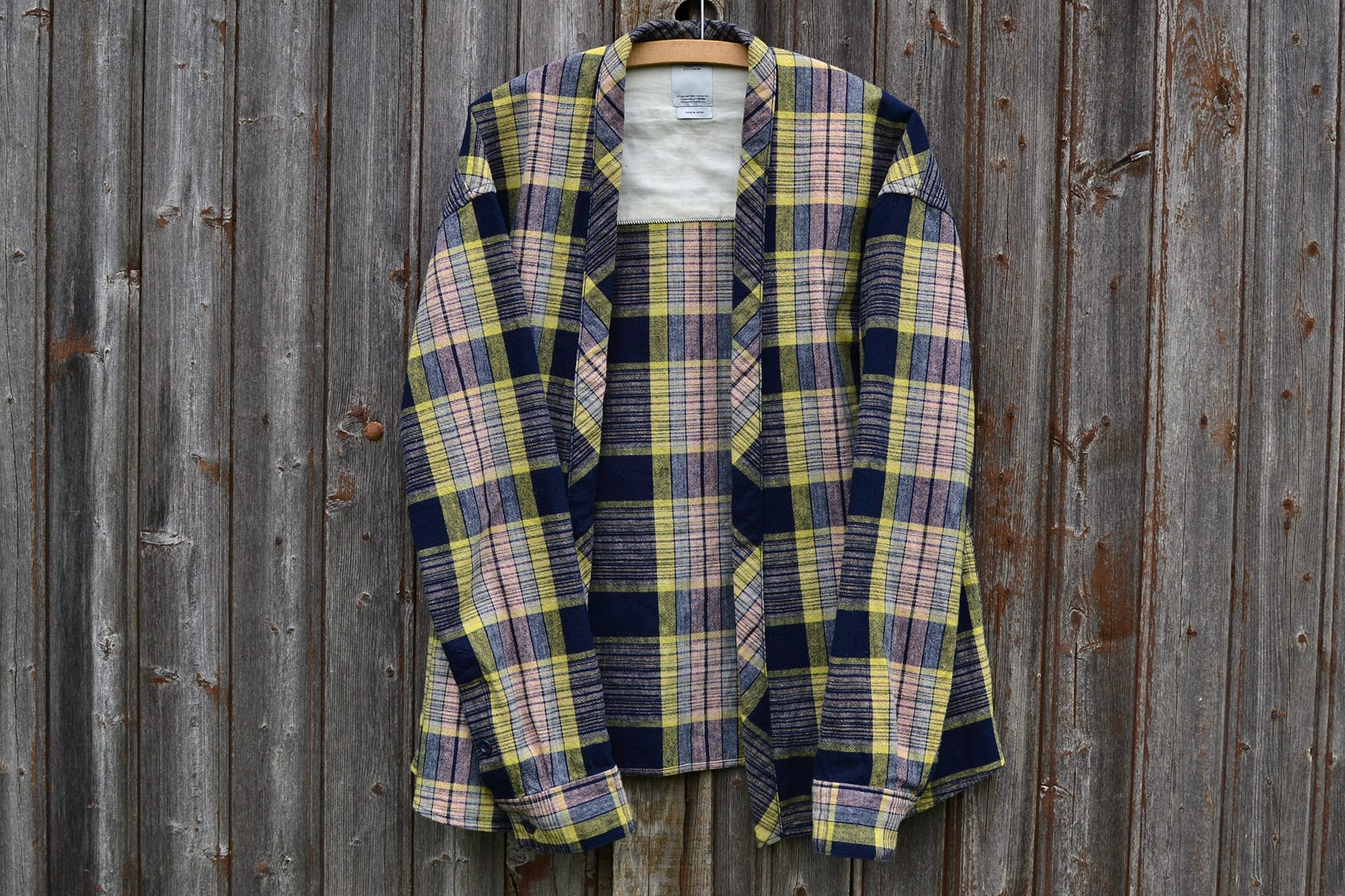 Visvim check plaid lhamo shirt