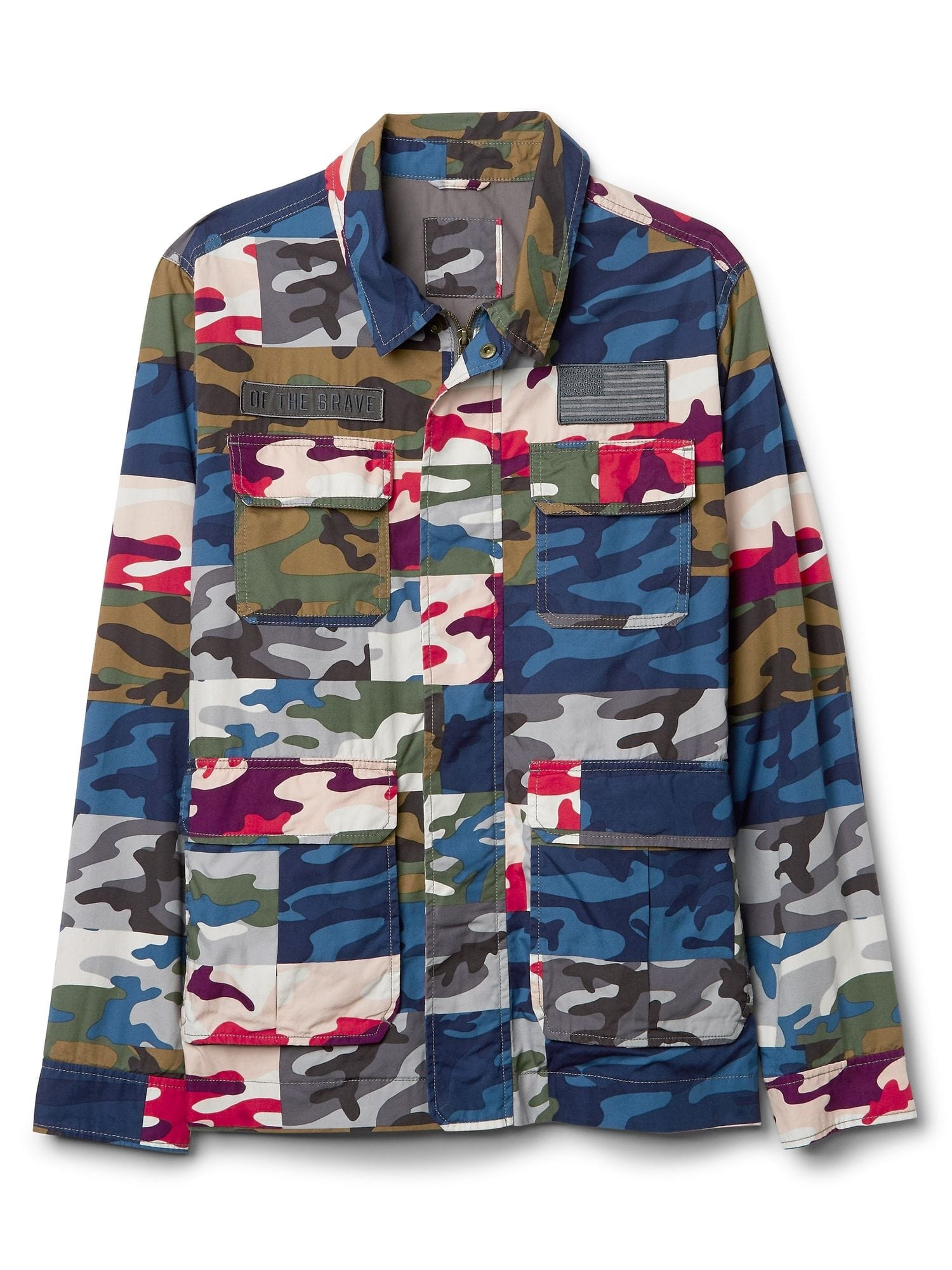 Limited Edition Embroidered Camo Field Jacket