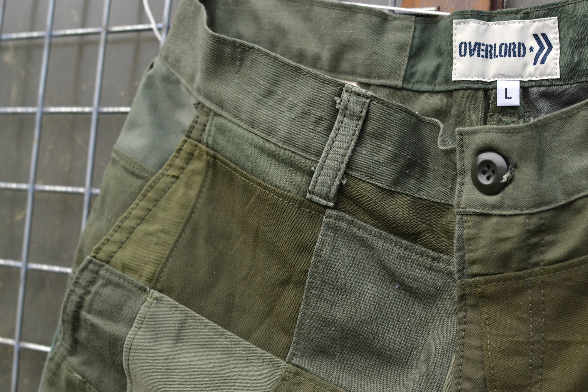 Short Overland Brand patch military handmade