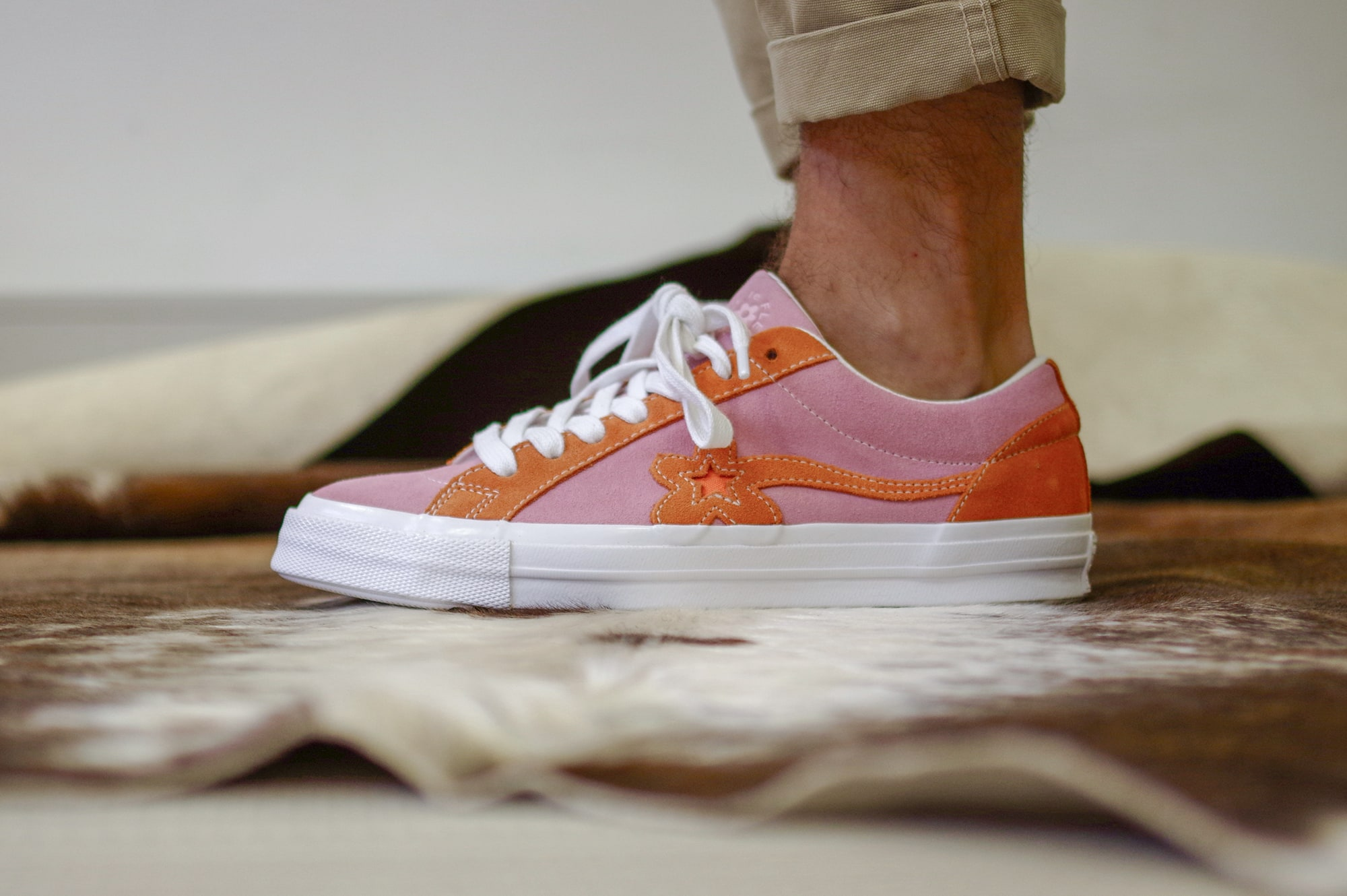 Converse x Golf Le Fleur from the skeakers store shop footshop