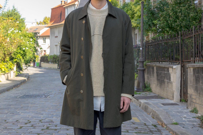 Araki Yuu - Soutien collar coat