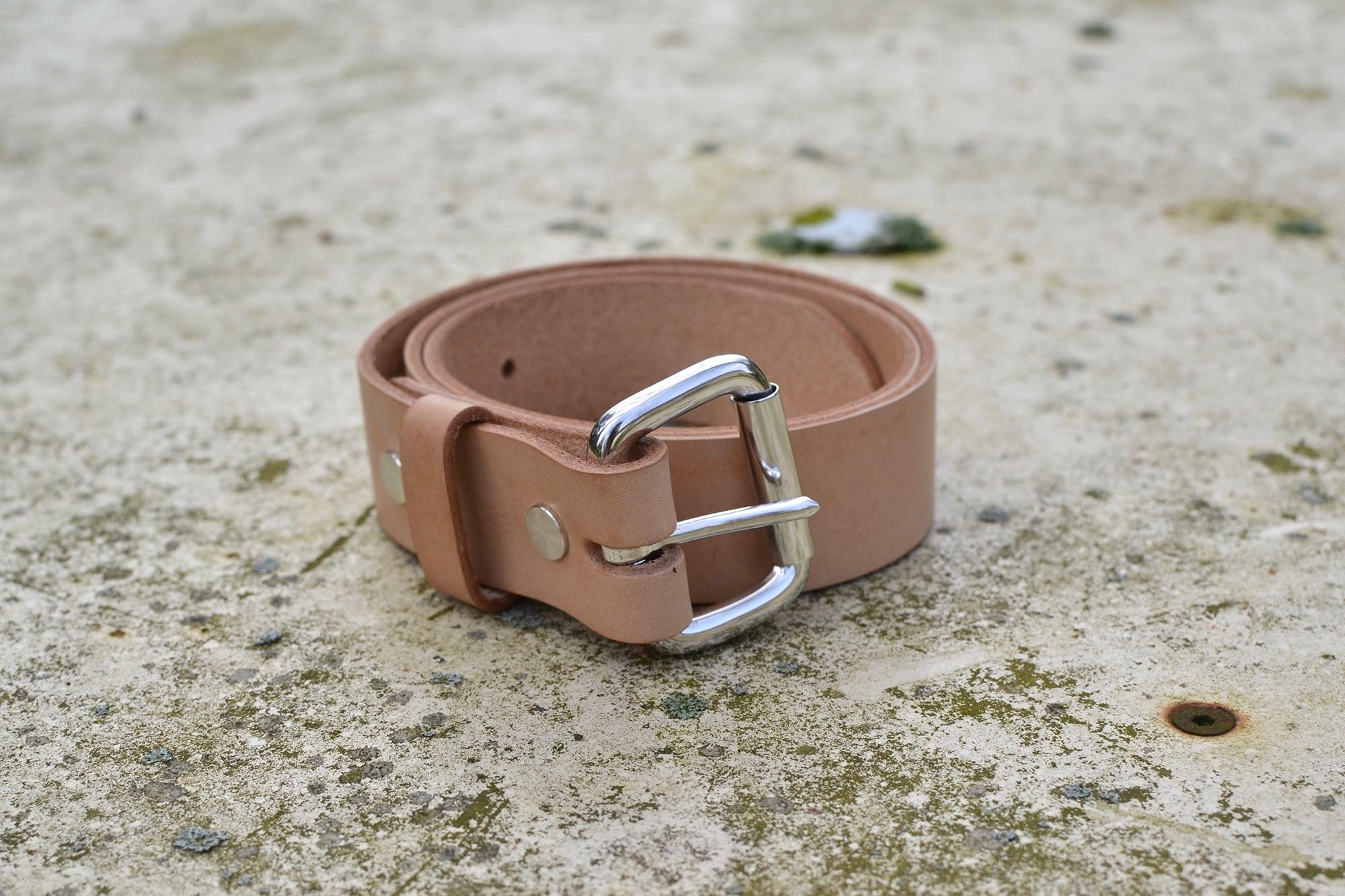 ceinture sympa bonnard sympa bo en cuir naturel faite en Suisse
