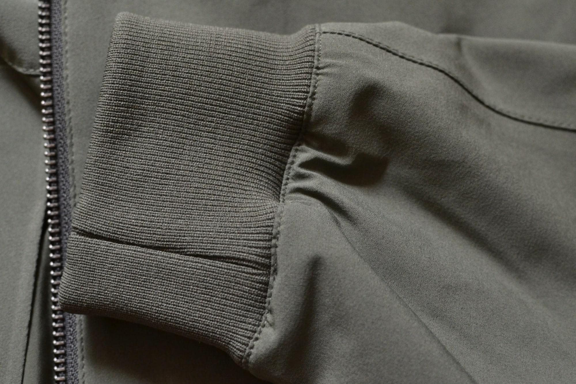 Kai jacket un bomber technique sans le designer techwear par NN07