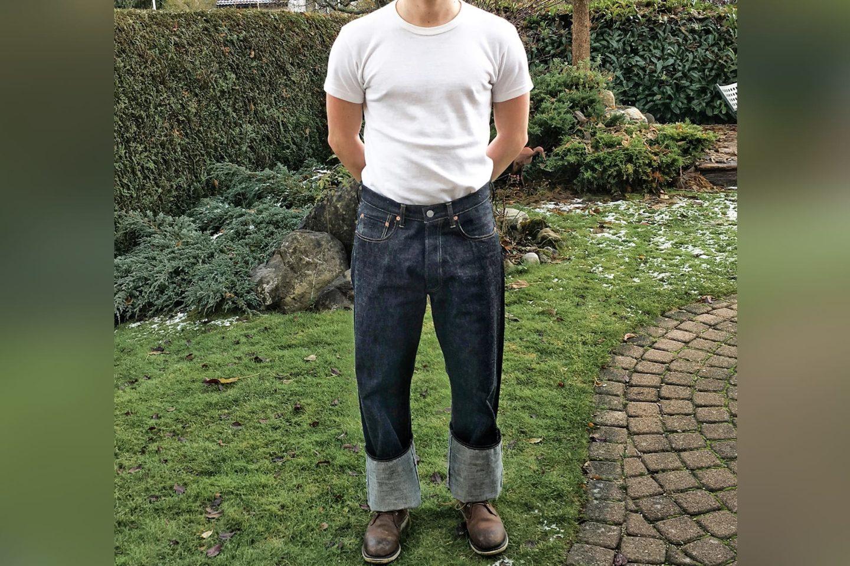 Mon premier jeans TCB. Le TCB 50's (straight)