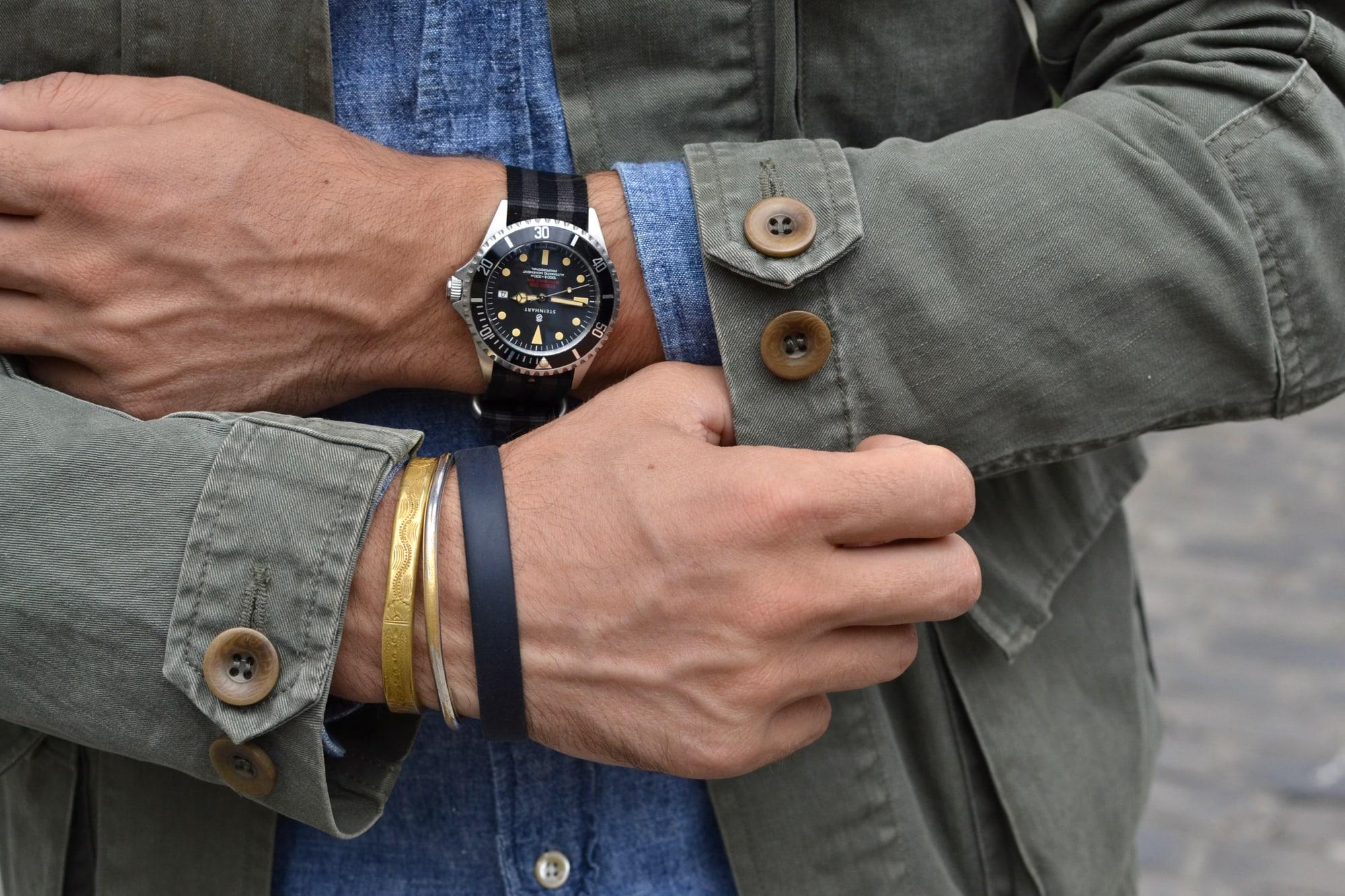 montre watch steinhart automatique mécanique pour homme style submariner