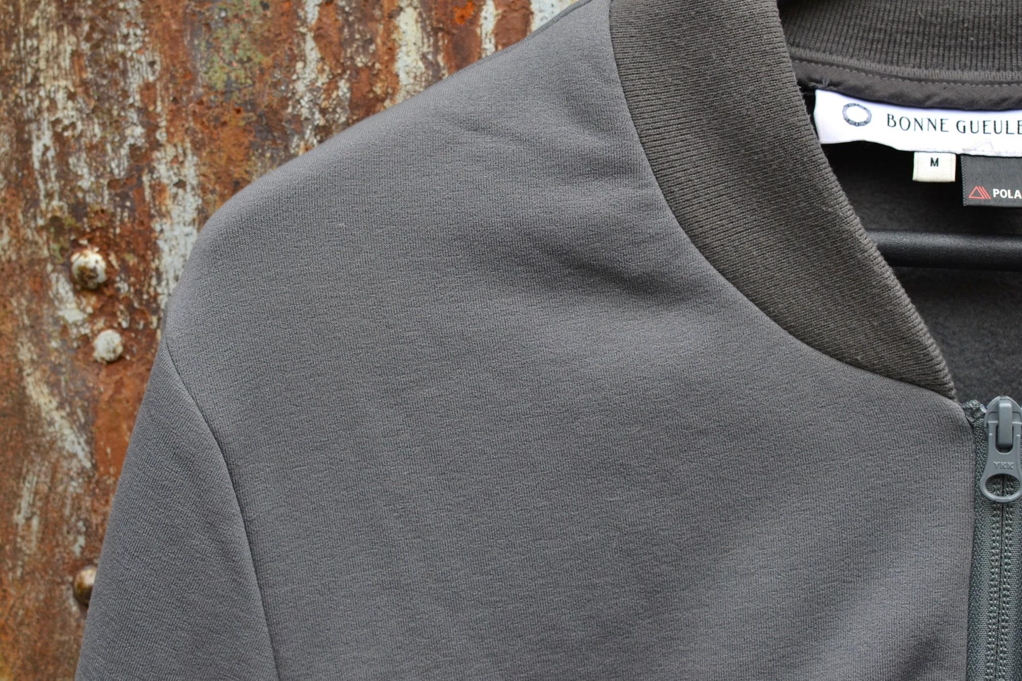 borasification blog conseil mode street heritage homme - bomber technique bonne gueule polartec power stretch pro gris - 1