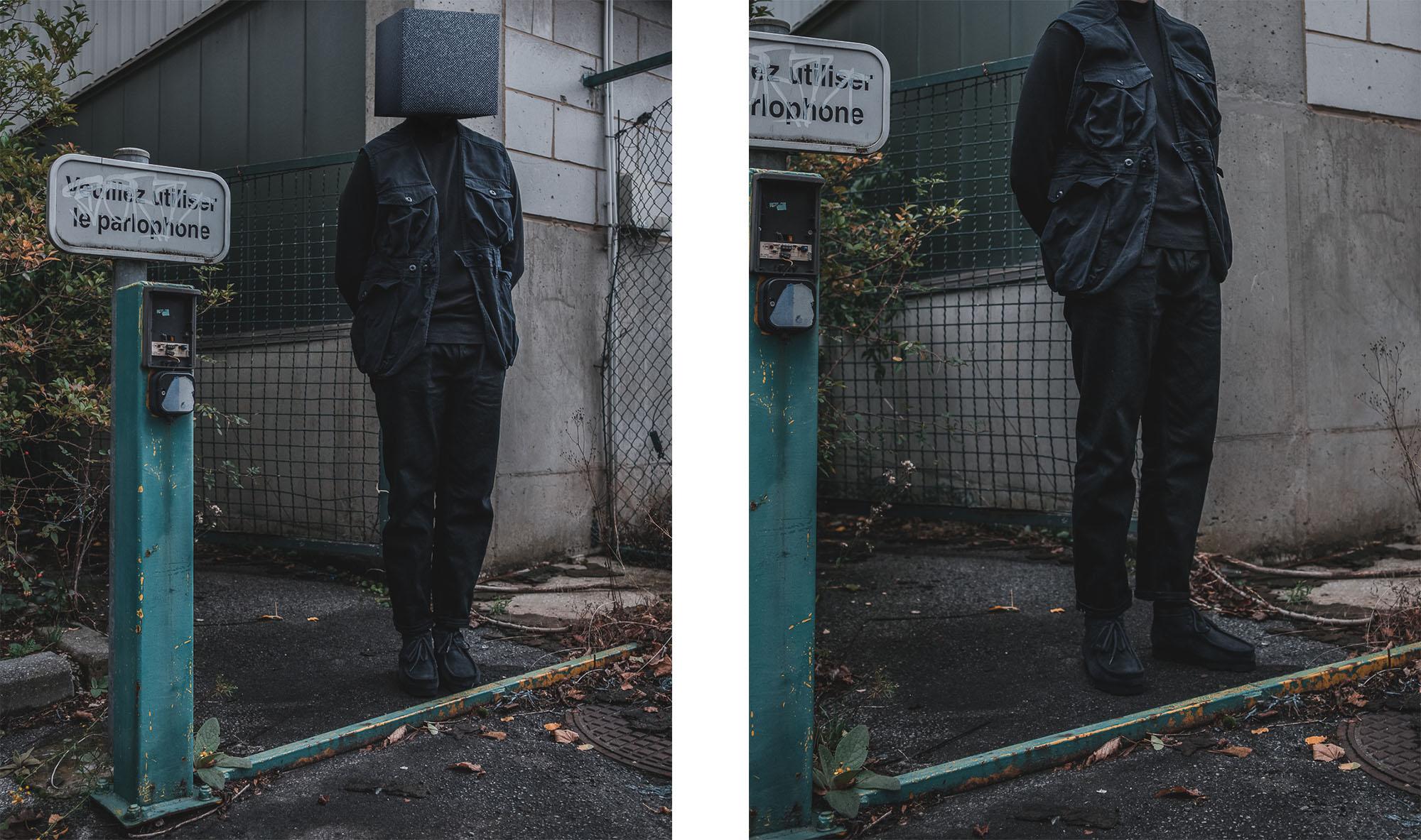 idée de tenues poour style homme avec vêtement noir et la couleur noire