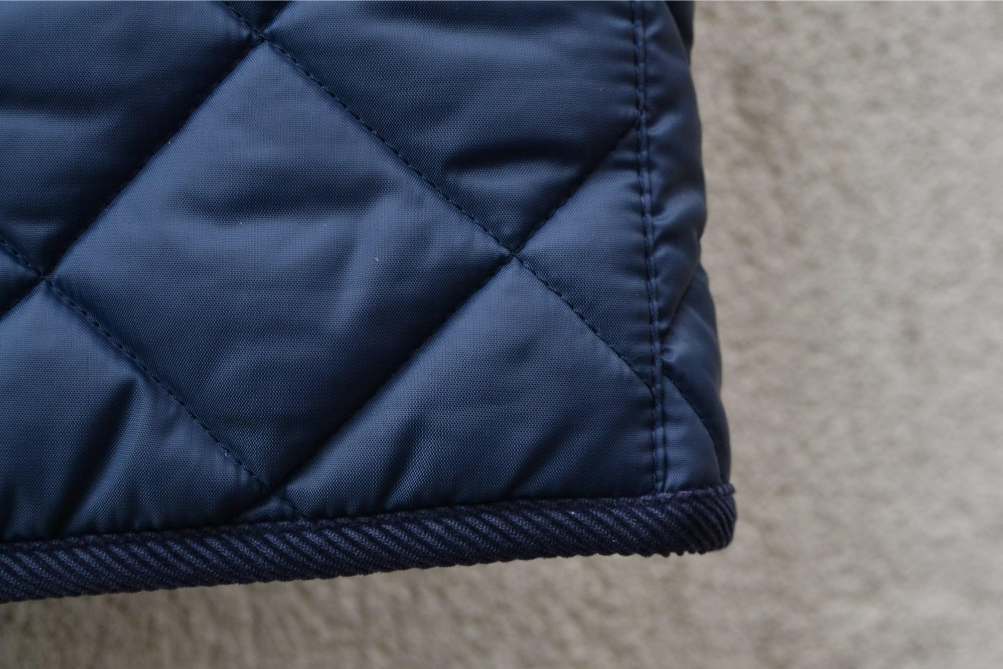 conseil blog mode homme workwear street heritage comment trouver de bons plans dans des friperie - gilet chasse type barbour avec benetton vintage military quilted vest