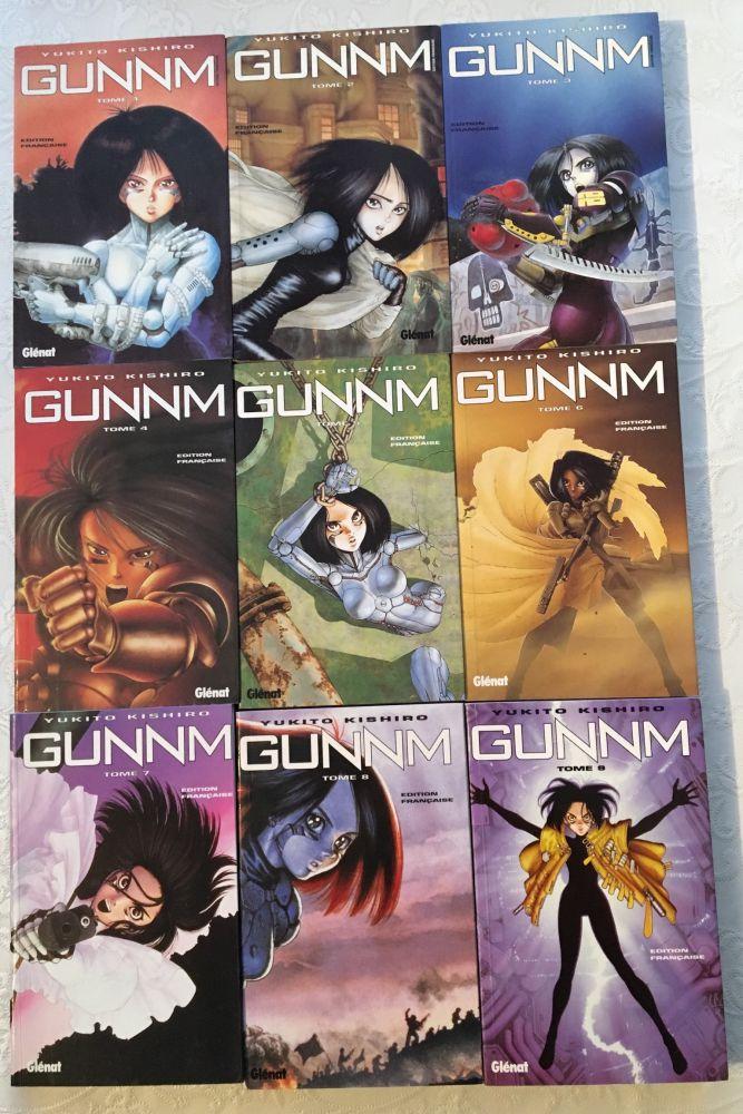 Série original de 9  volume du manga Gunnm