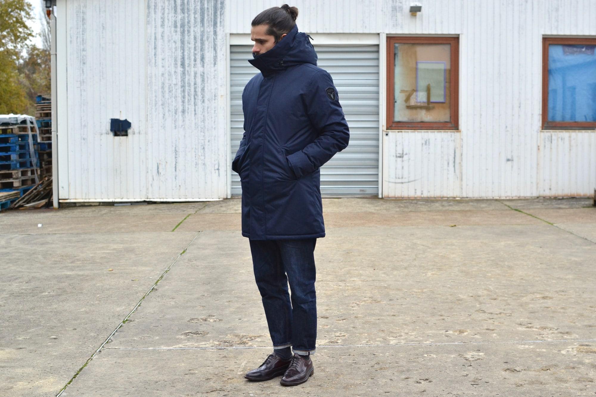 idée de style avec la parka Nobis modèle Pierre