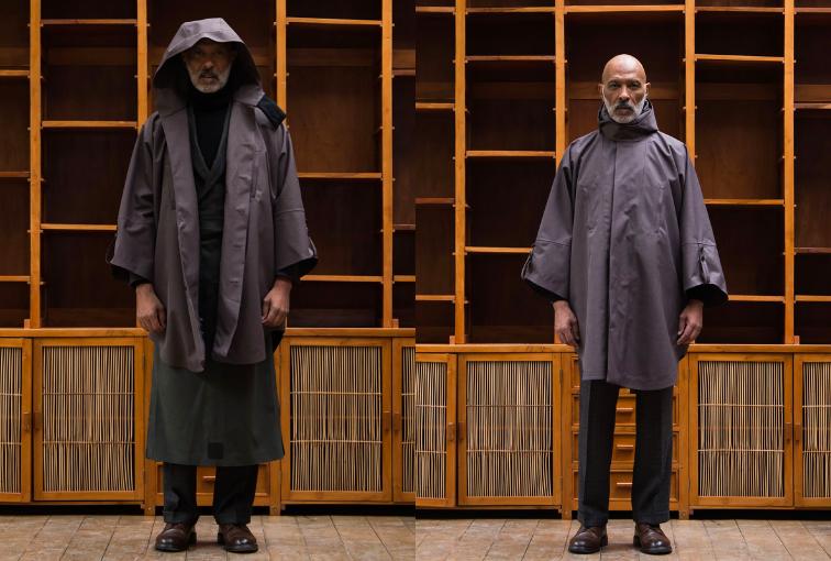blog mode street heritage homme - Norvegian rains poncho