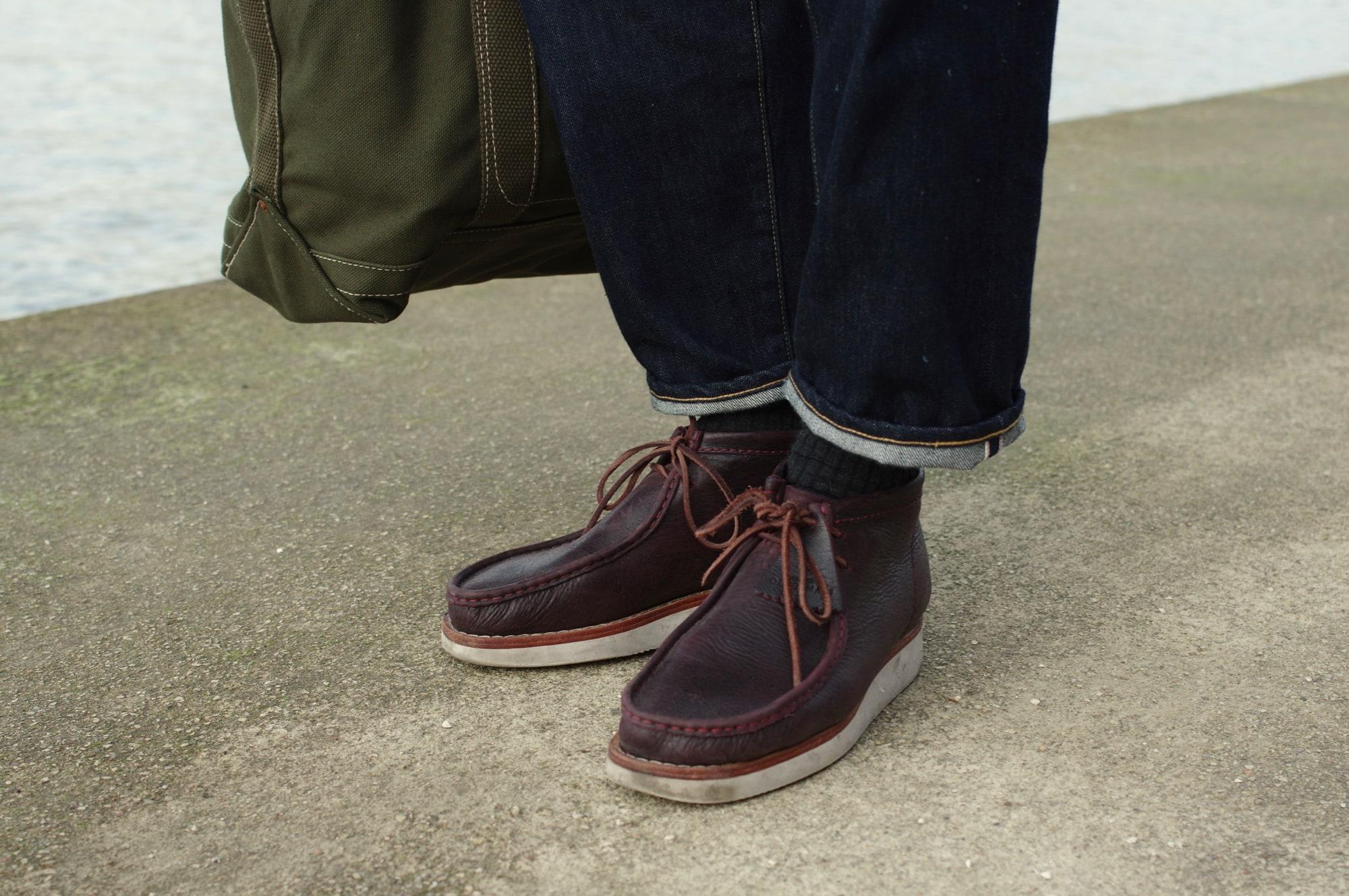 comment porter des clarks wallabee hike boots dans un style masculin homme conseil
