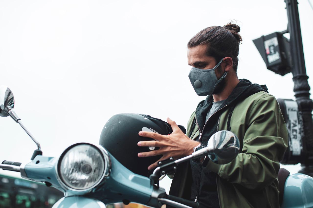airinum un masuque urbain contre la pollution pour faire du sport ou vélo