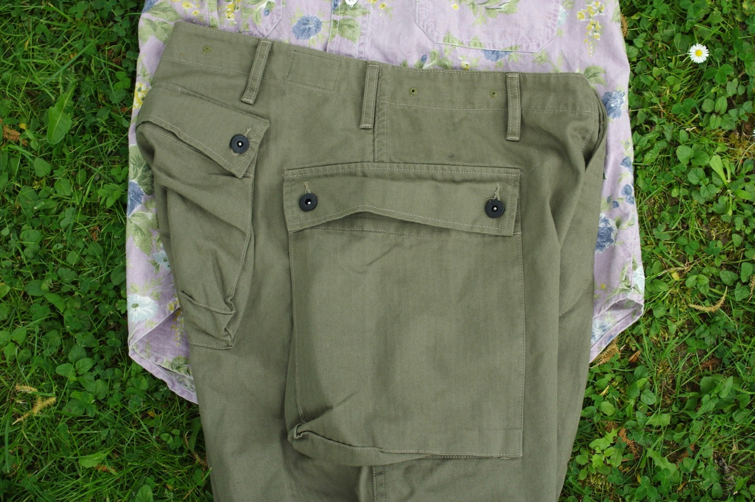 monkey pants Arashi denim HBT pantalon cargo