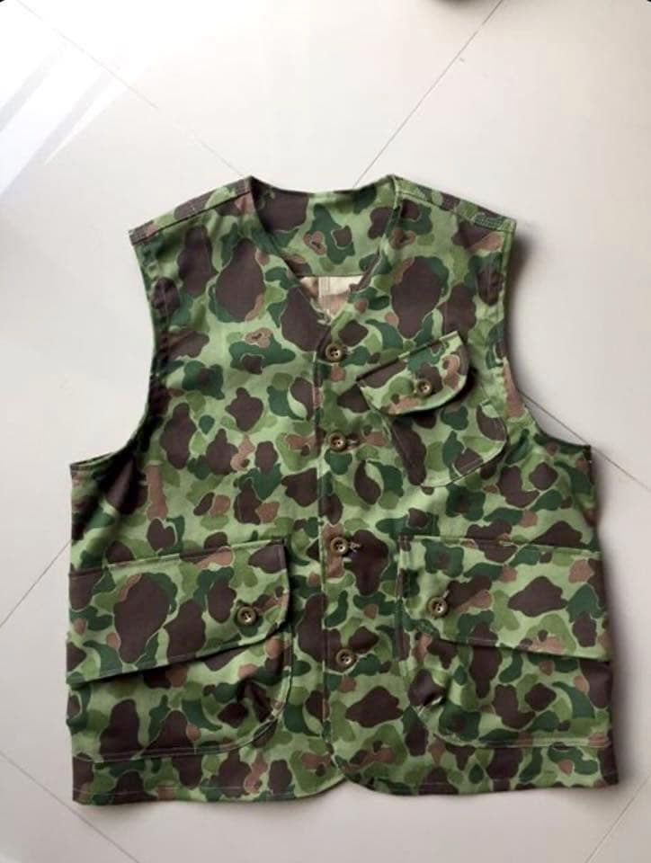 Gilet Workwear Arashi Denim camo