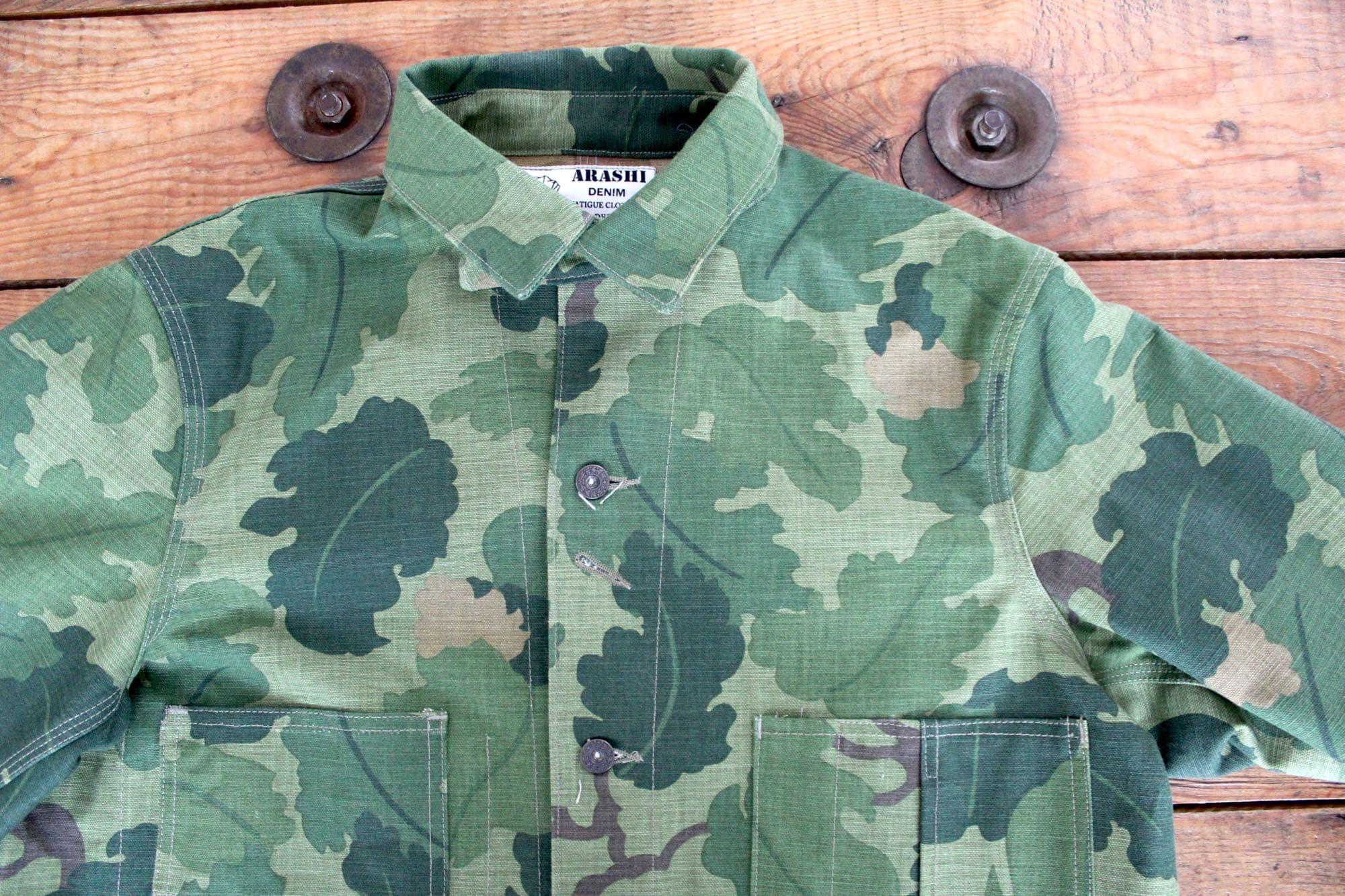 Arashi canev veste motif camo Mitchell