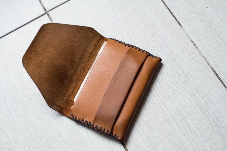 Tuto DIY - comment fabriquer porte-cartes en cuir par soi-même - accessoire pour homme