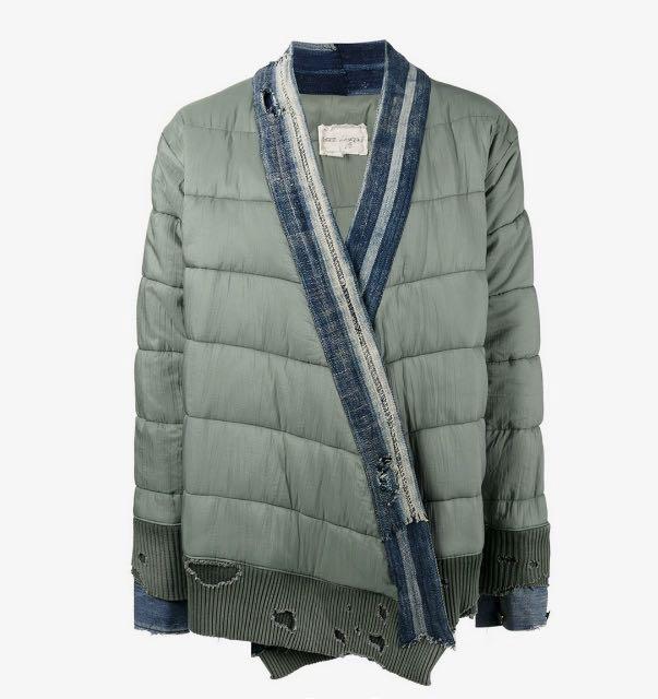 Greg Lauren Army Padded Kimono Jacket - 1