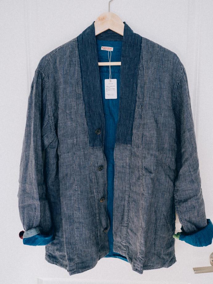 Kapital noragi shirt chemise kimono