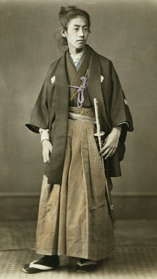 Young man - Prince Okundaira - in formal haori