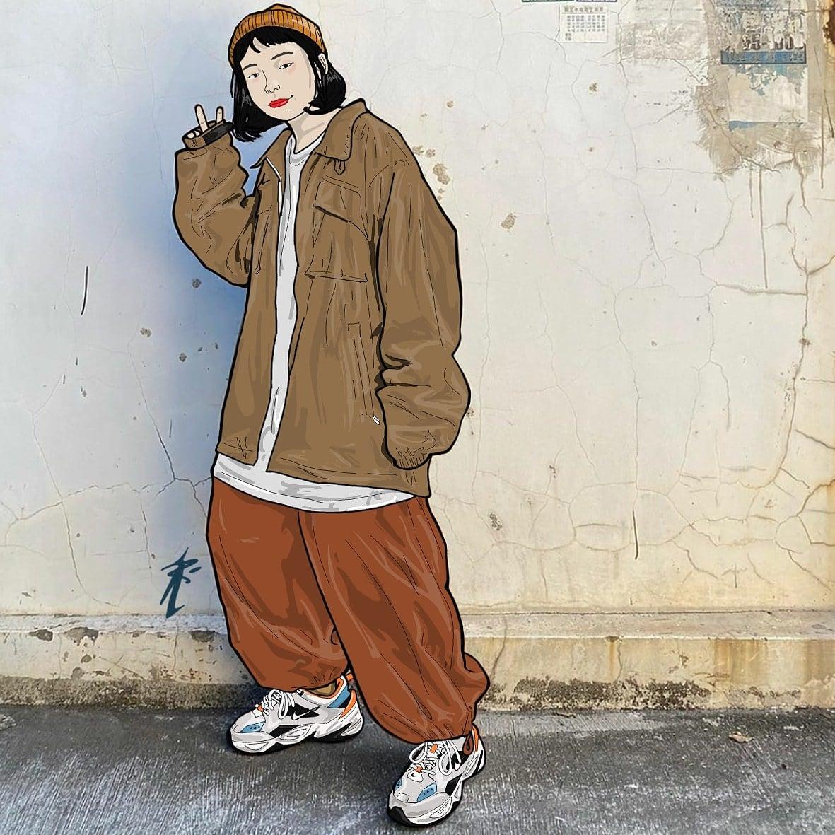 mode et art numérique artiste-mode-asian style-by-aridan512