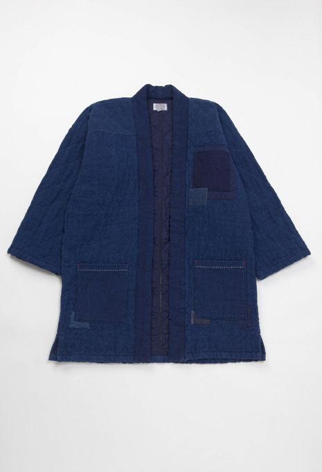 blue blue japan hoari noragi veste idée pièce indigo