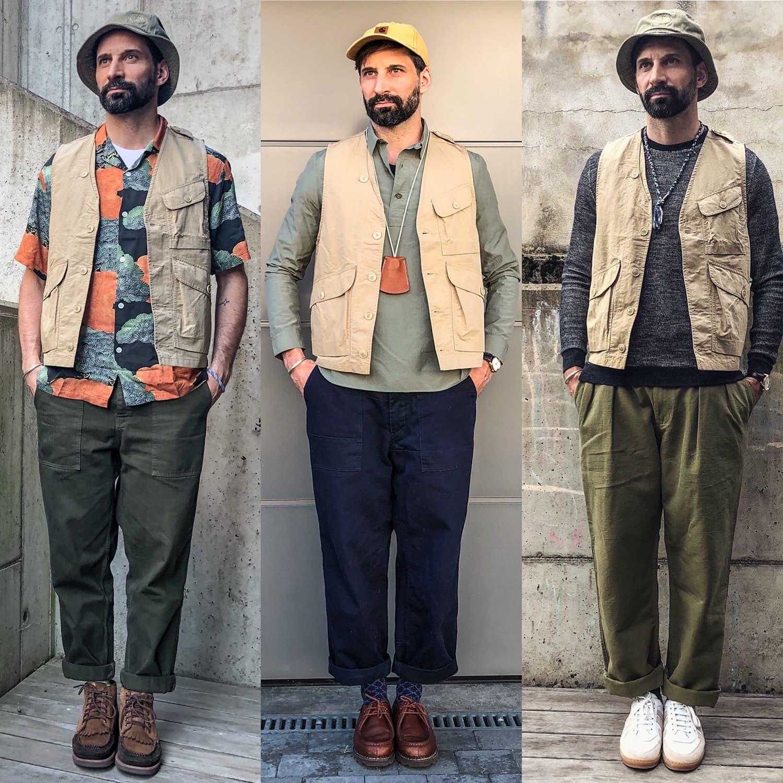1ST PAT-RN wander vest gilet workwear et marque militaria