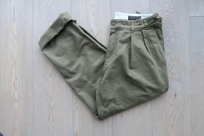 marque 1ST PAT-RN workwear brand & sartorial vintage