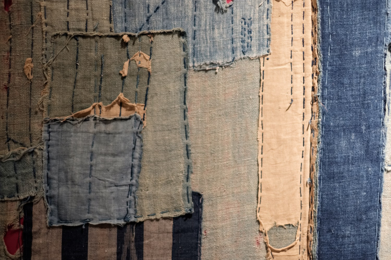 old japanese farmer fabrics indigo boros hemp linen