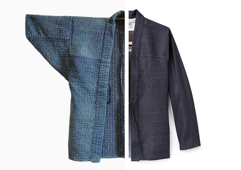 noragi sous une forme de surchemise / chemise