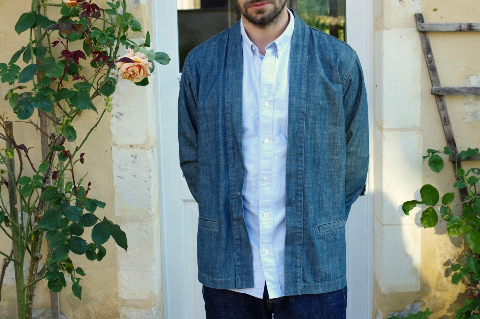 comment porter une veste noragi dans un look homme casual chic