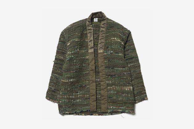 sasquatchfabrix sakiori military hanten noragi jacket