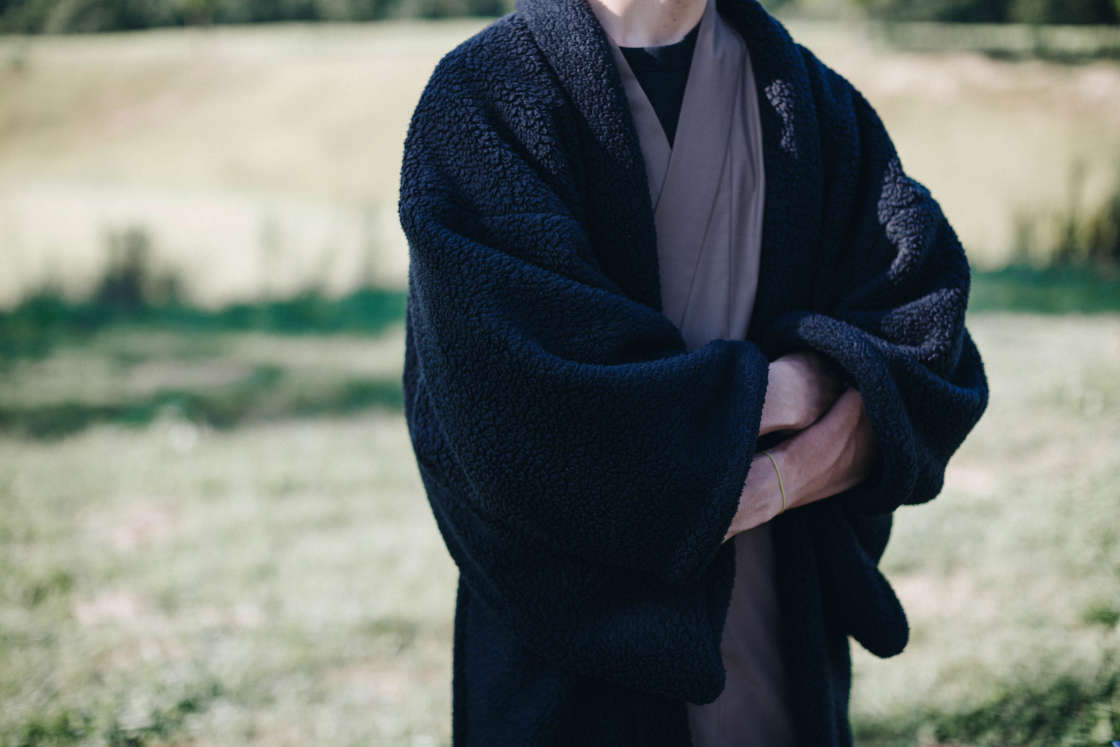 snowpeak haori kimono polartec
