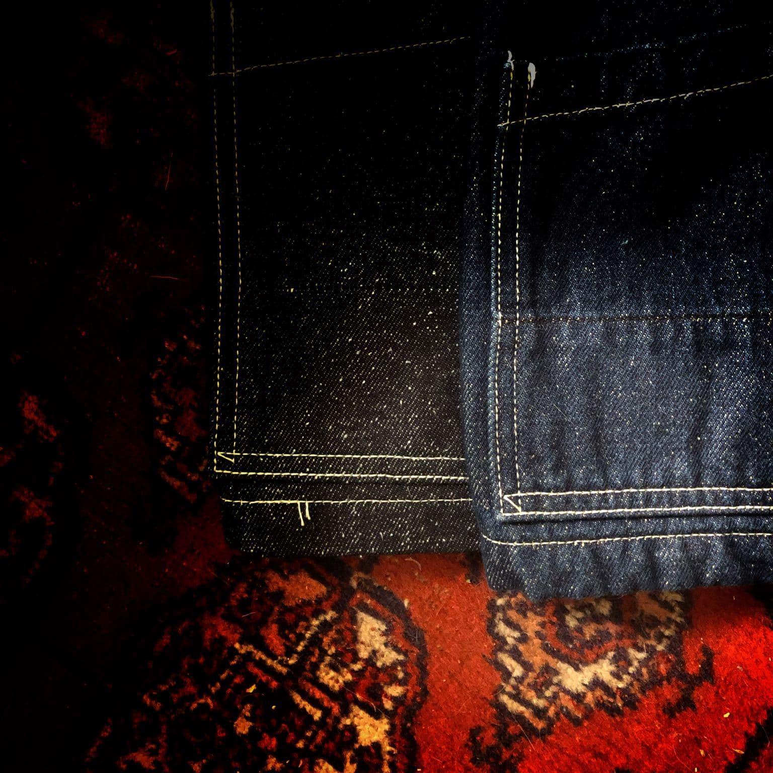 la veste noragi créée par Borali faite dans un petit atelier artisanal au japon avec une matière très particulière