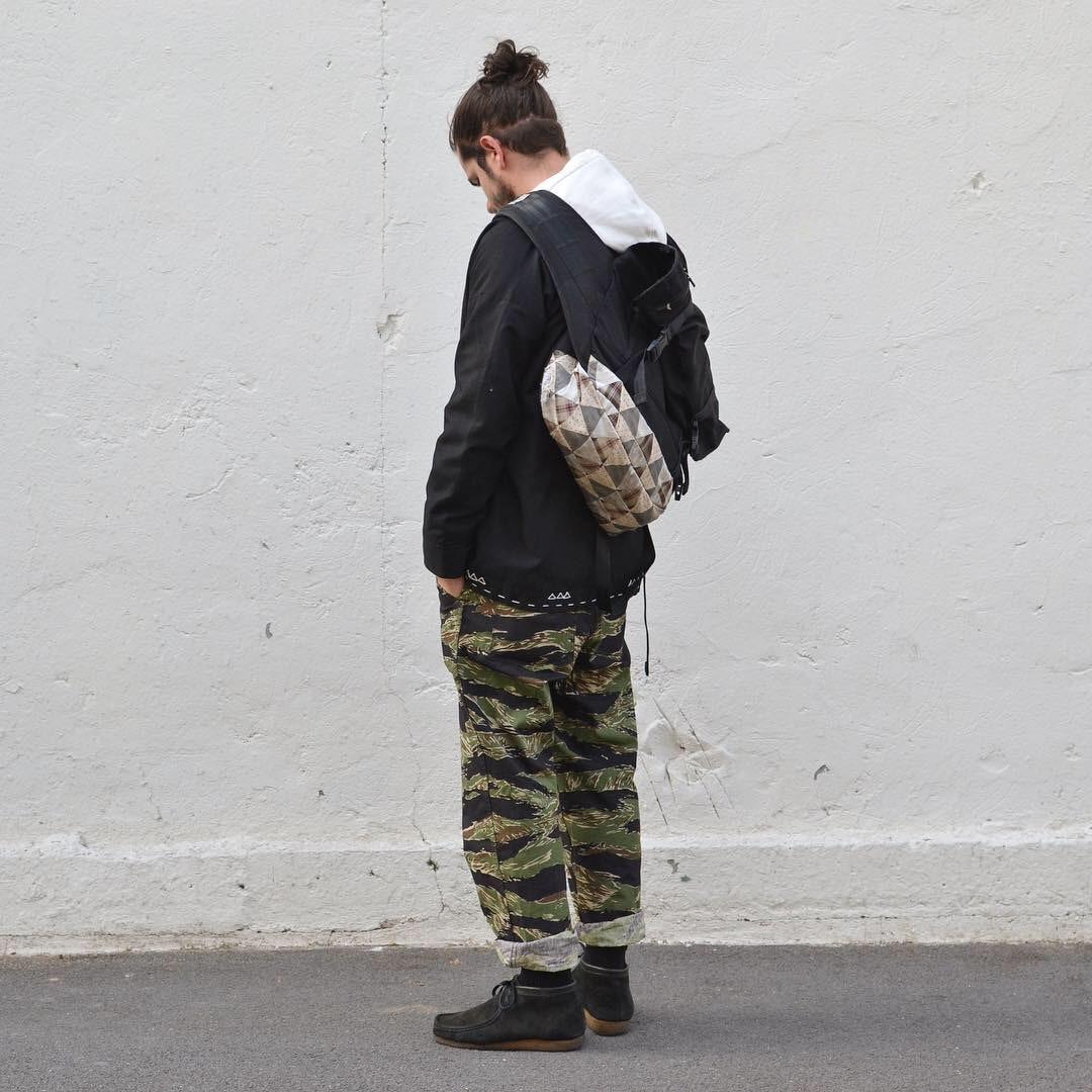 streetwear et style homme avec kimono noragi
