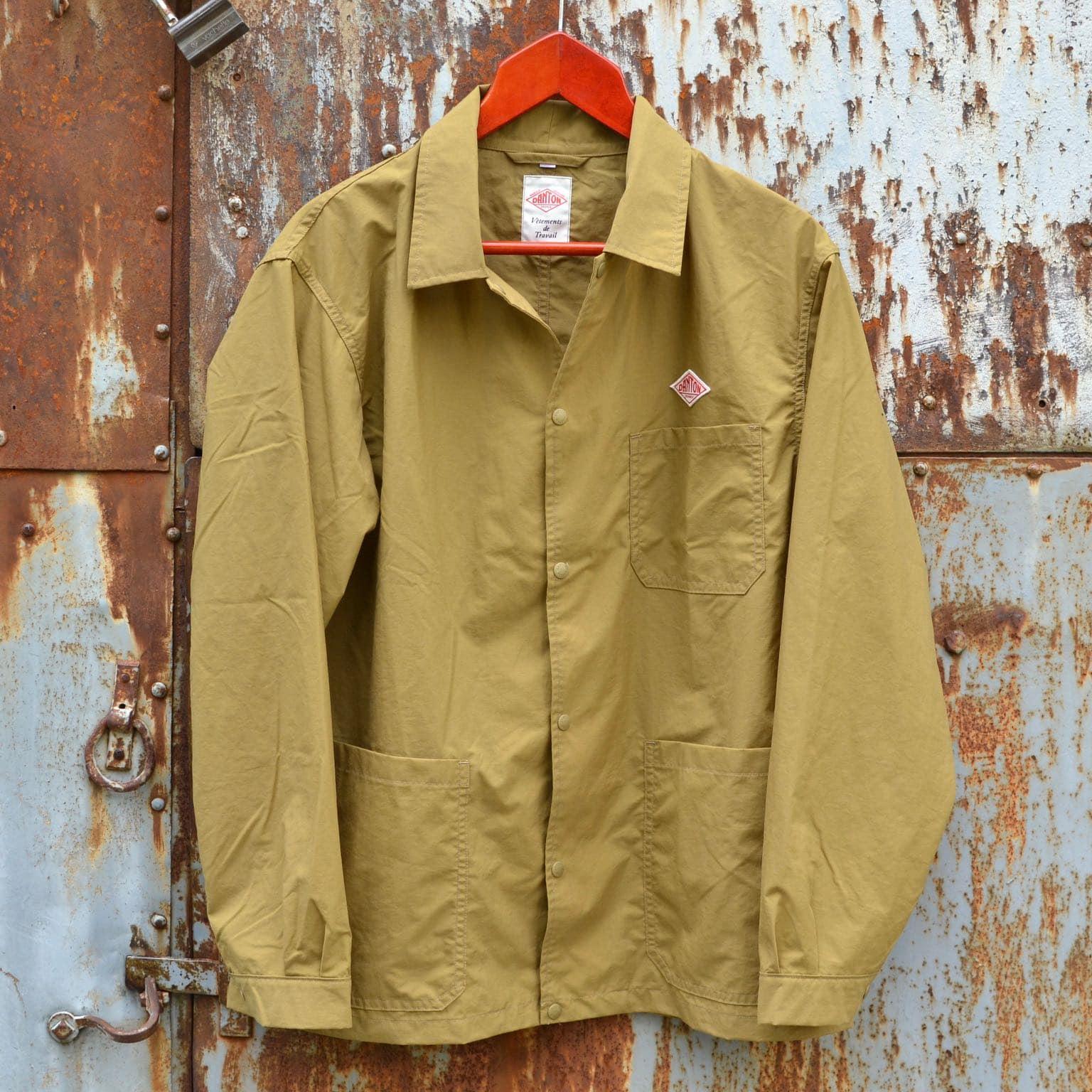 coach jacket et veste de travail de la marque workwear française danton