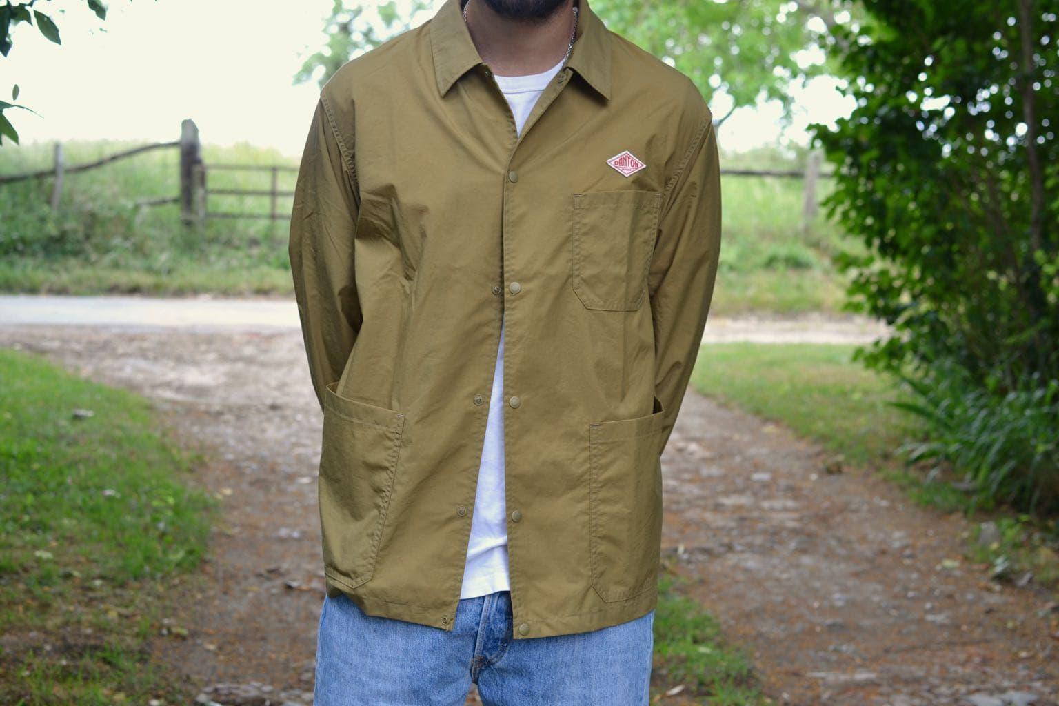 danton nylon taffeta jacket via le shop français reforme store à Rennes