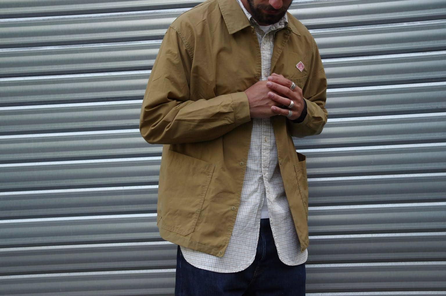 Danton nylon taffeta jacket achetée chez Reforme Store, shop workwear à rennes
