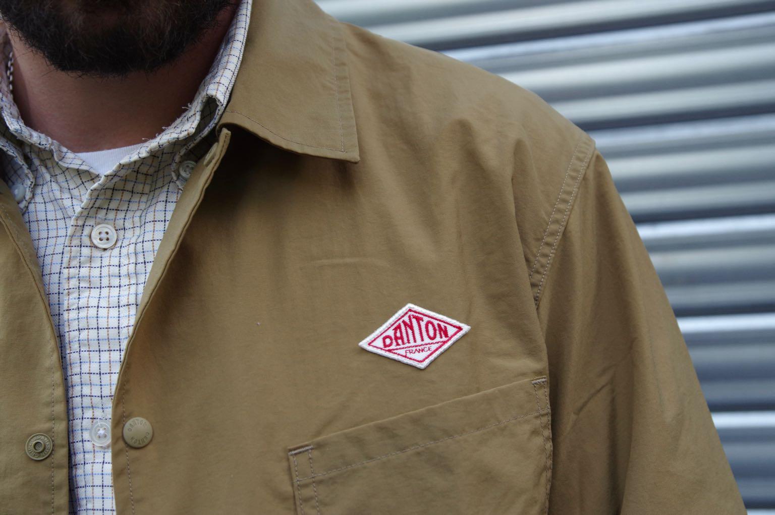 Veste Danton nylon taffeta jacket - une veste de travail et coach jacket