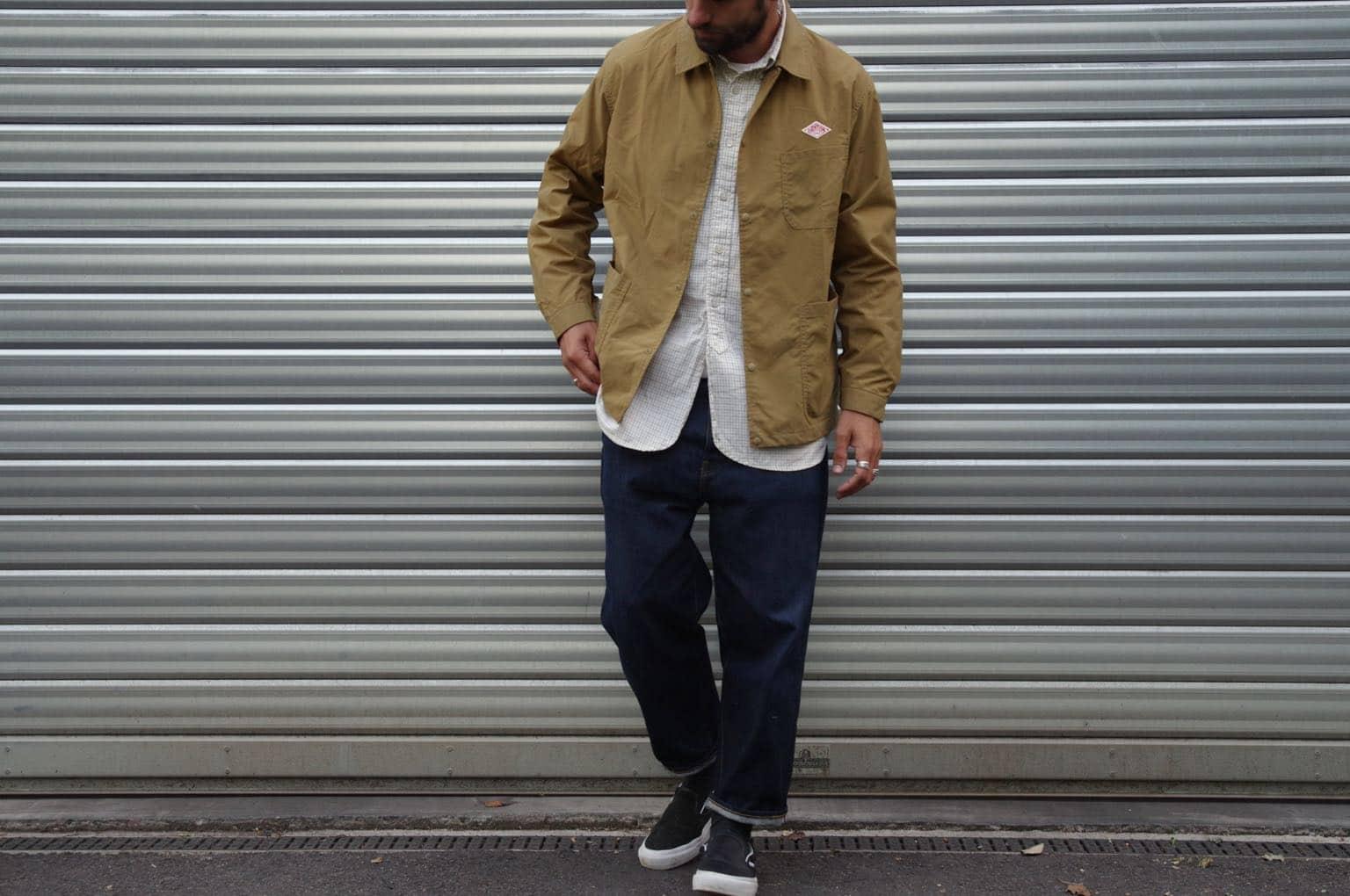 comment porter des vêtements larges coupe droites dans un look homme workwear