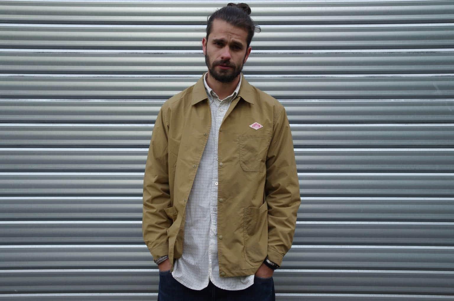 comment orter une veste de travail ou coache jacket Danton idée tenue homme