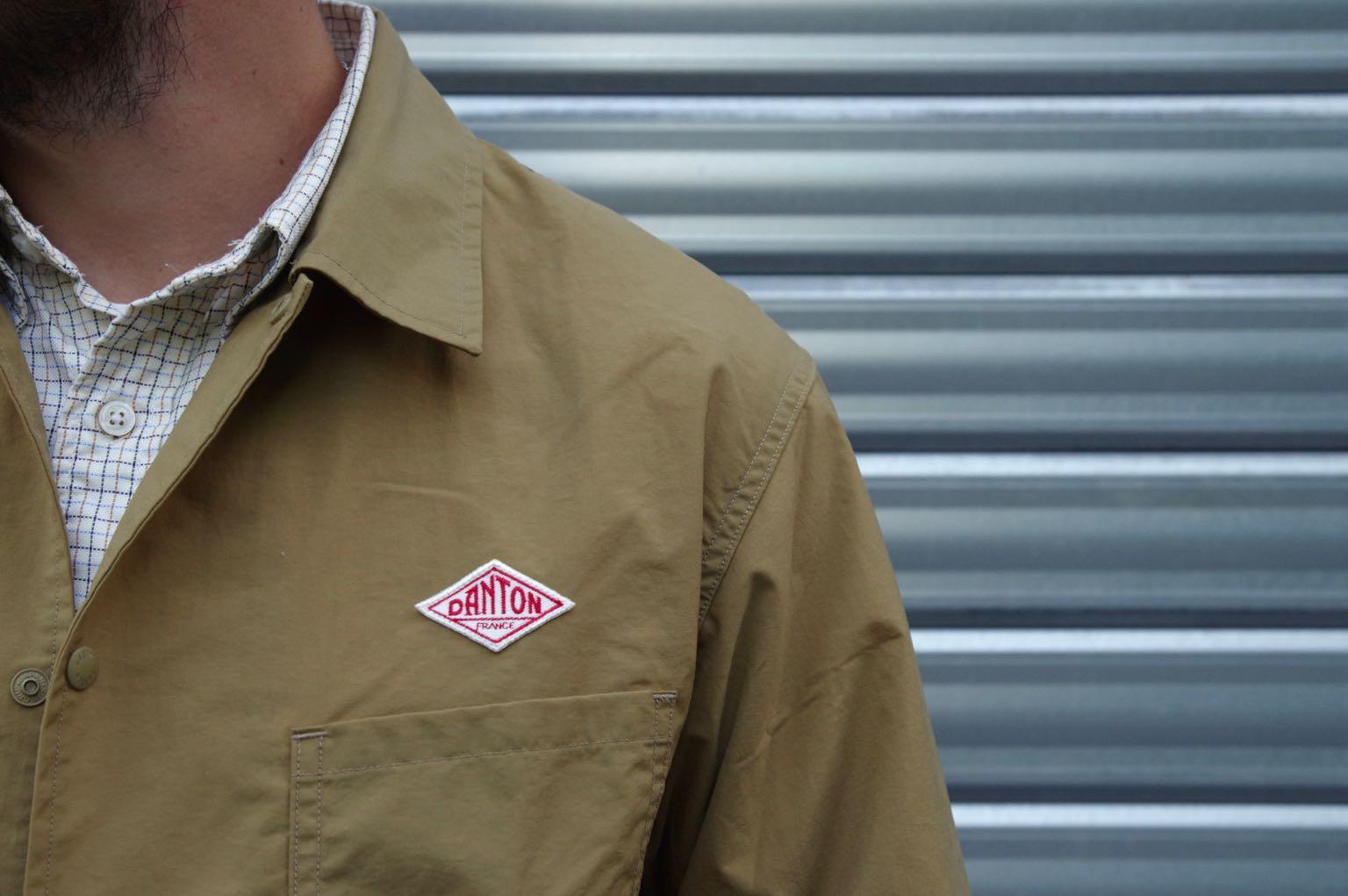 Danton - une marque française workwear sauvée et relancée par les japonais - nylon taffeta jacket