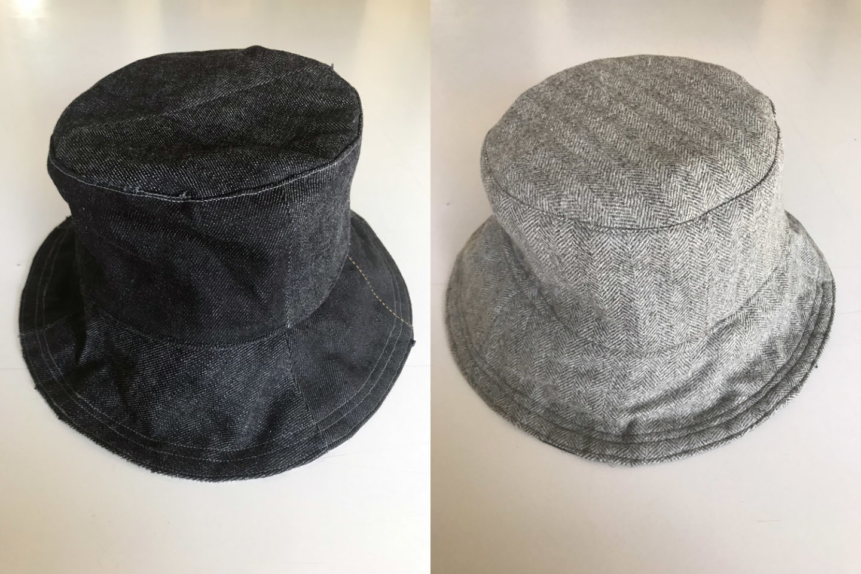 diy comment coudre un bob chapeau à partir de chute de tissus (upcycling)